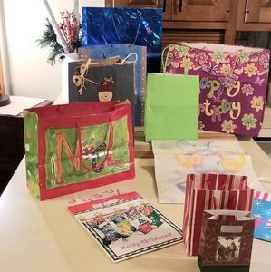 """ BAG OF BAGS"" : Variety of Gift Bags"